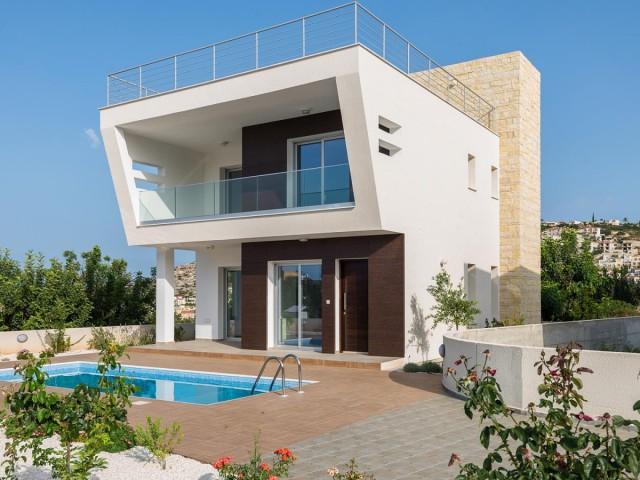 Вилла с 3 спальнями в Пафосе, Peyia