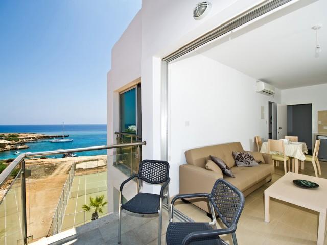 Апартаменты на Кипре в Протарасе с одной спальней