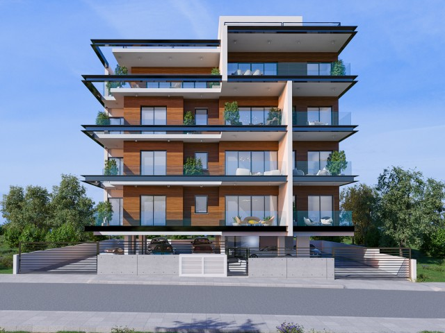 Здание с апартаментами в Лимассоле, City Center