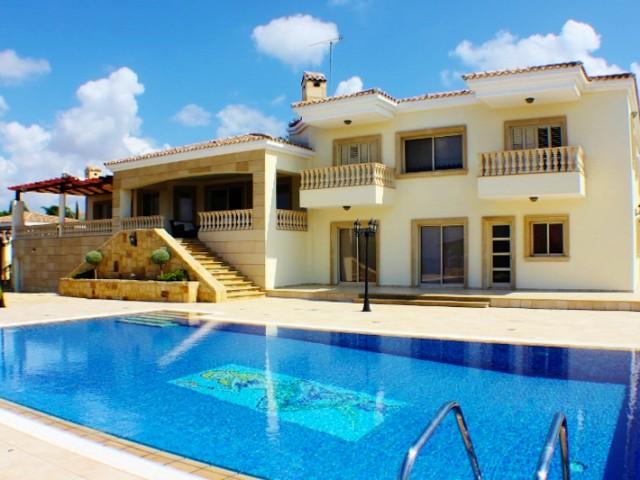 Роскошная вилла в Пафосе с 6 спальнями, Kouklia
